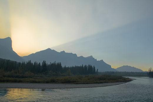 Canada, Alberta, Canmore : Stock Photo