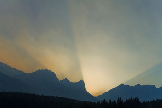 Canada, Alberta, Canmore : Stock Photo