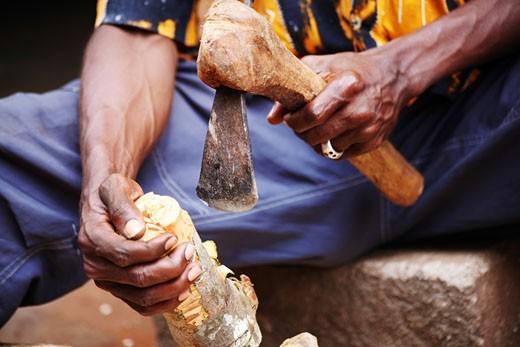 ouidah, benin, west africa : Stock Photo