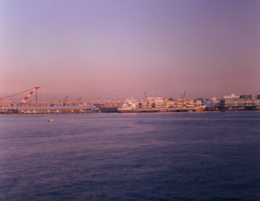 Stock Photo: 1598R-250132 Docks at Sunset