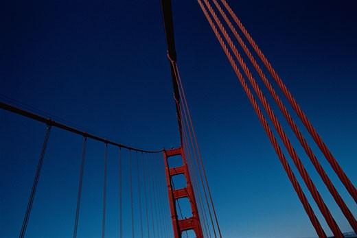 Stock Photo: 1598R-251673 Golden Gate Bridge