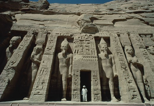 Stock Photo: 1598R-252543 Temple of Hathor