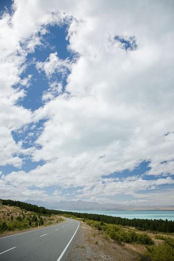 New Zealand, Lake Pukaki : Stock Photo