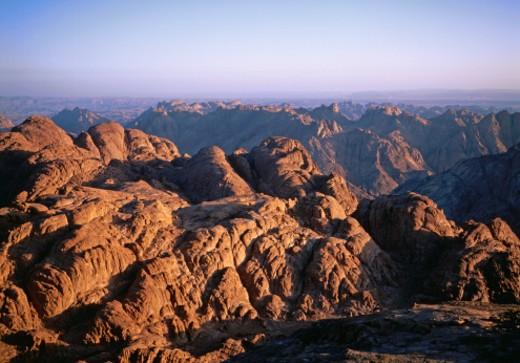 Stock Photo: 1598R-264532 Egypt, rocky landscape