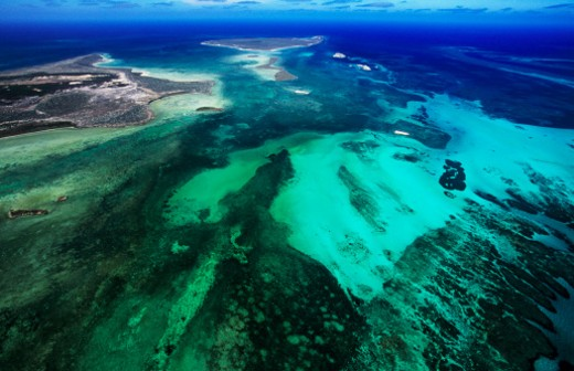 Australia, Western Australia, Indian Ocean, Houtman Abrolho : Stock Photo