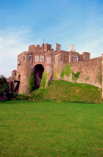 Stock Photo: 1598R-267134 Facade of the Dover Castle, Kent, England