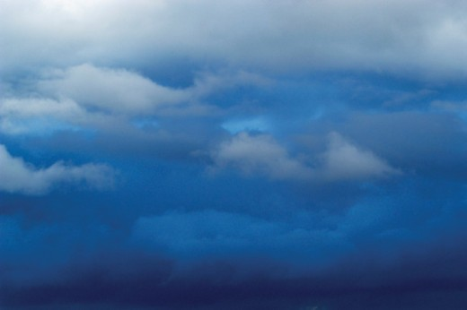 Stock Photo: 1598R-268671 Clouds