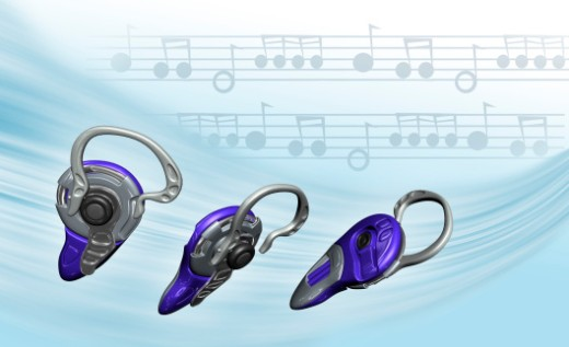 Stock Photo: 1598R-269516 Close-up of three hearing aid