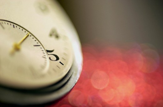 Close-up of a pocket watch : Stock Photo