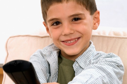 Stock Photo: 1598R-287471 Portrait of a young boy