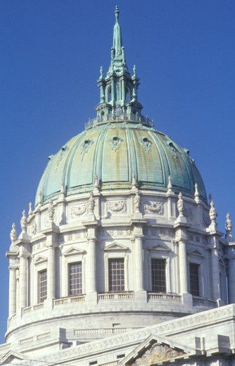 USA, California, San Francisco, dome of city hall : Stock Photo