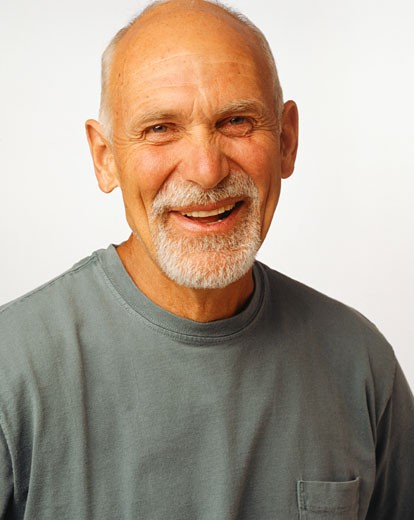 Stock Photo: 1598R-59670 Mature man laughing, (portrait)