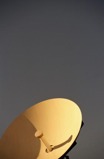 Stock Photo: 1598R-68778 Detail of Satellite Dish