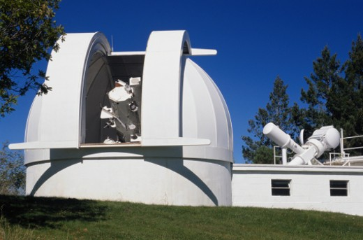 Stock Photo: 1598R-68918 National Solar Observatory in New Mexico