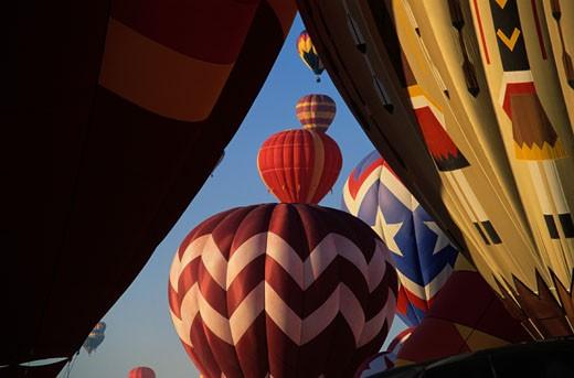 Stock Photo: 1598R-69474 Hot Air Balloons