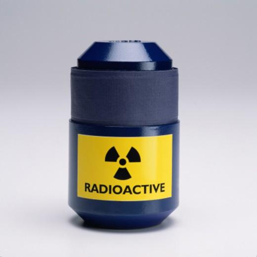 Radioactive Container : Stock Photo