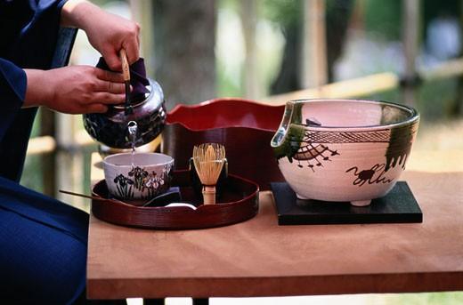 Japanese Tea Ceremony : Stock Photo