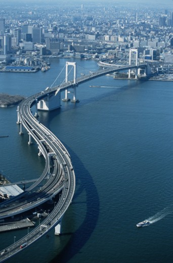 Aerial View of Tokyo : Stock Photo