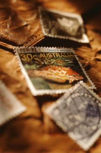 Postage Stamps : Stock Photo