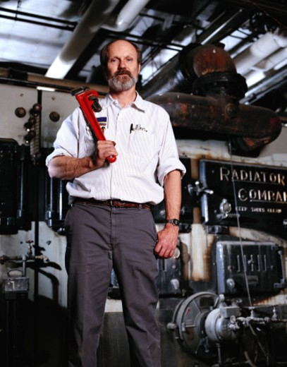 Stock Photo: 1598R-78672 Radiator Technician