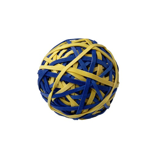 Ball of Rubber Bands : Stock Photo