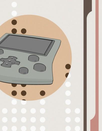 Stock Photo: 1598R-79987 Electronic Pocket Game