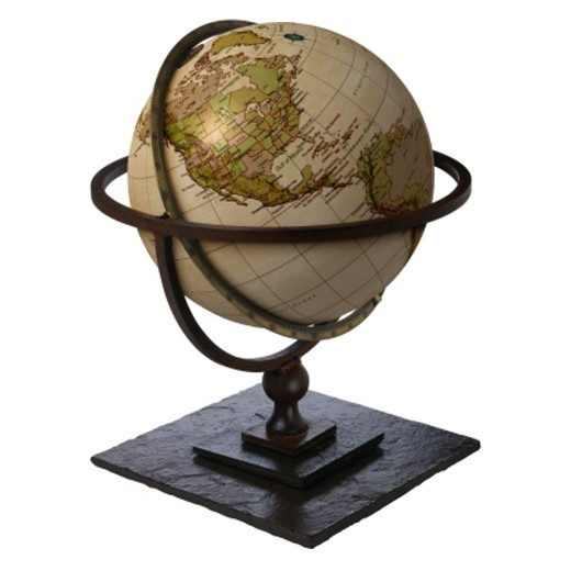 Globe Showing North America and South America : Stock Photo