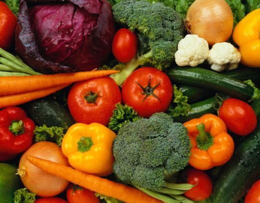 Vegetable Background : Stock Photo