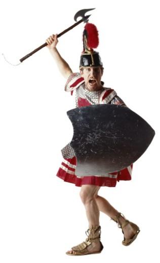 Roman Soldier : Stock Photo