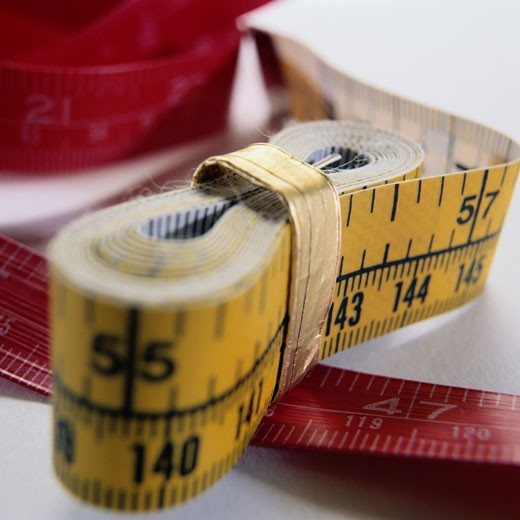 Stock Photo: 1598R-83702 Tape Measure