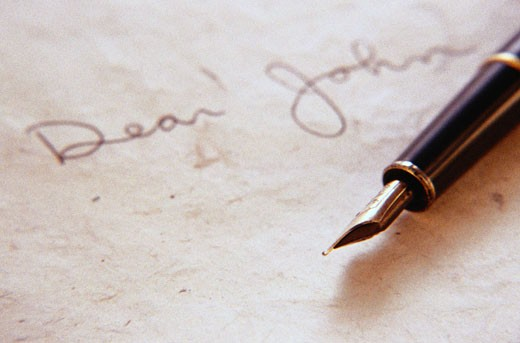 Dear John Letter : Stock Photo