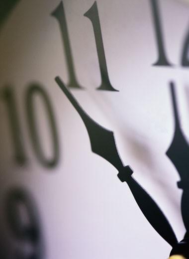 Stock Photo: 1598R-84296 Clock Close-Up
