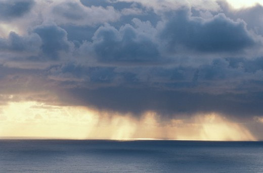 Stock Photo: 1598R-85307 Storm over the Sea