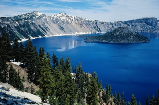 Stock Photo: 1598R-85436 Crater Lake - Oregon