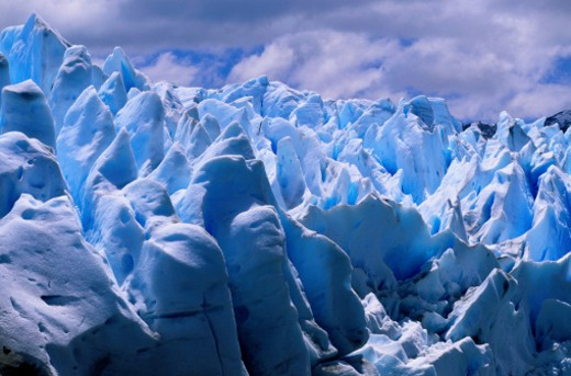 Stock Photo: 1598R-85905 Moreno Glacier in Argentina