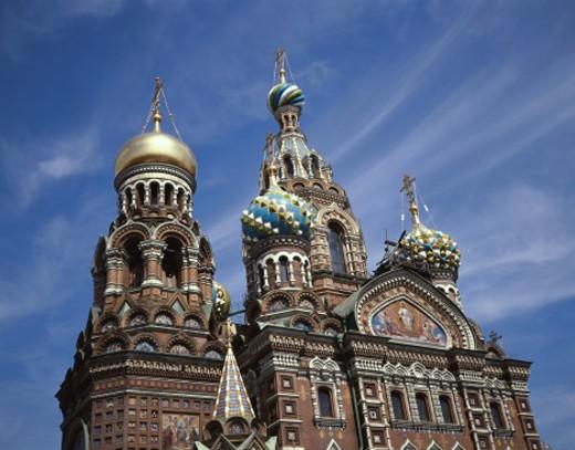 Russia, St Petersburg, Spas Na Krovi Church : Stock Photo