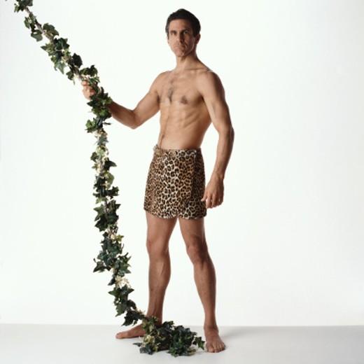 Stock Photo: 1598R-88050 Tarzan