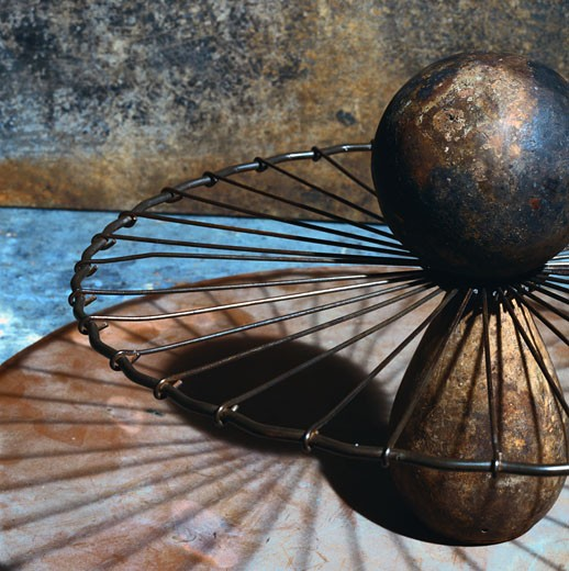 Stock Photo: 1598R-89700 Sphere & Spokes