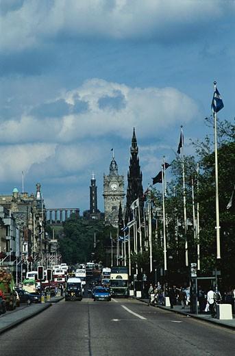 Edinburgh Street : Stock Photo