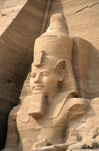 Colossus of Rameses II : Stock Photo