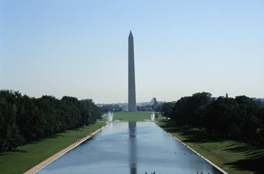 The Washington Monument : Stock Photo