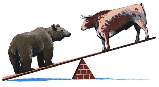 Stock Photo: 1598R-91616 Bear Market