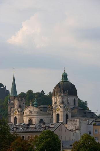 Austria, Salzburg, Kollegienkirche : Stock Photo