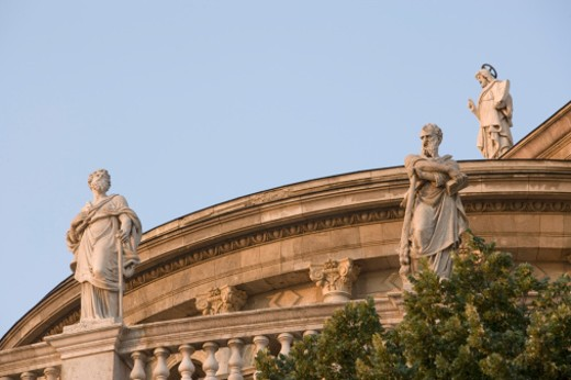 Stock Photo: 1598R-9945419 2006, statues of the twelve apostles.
