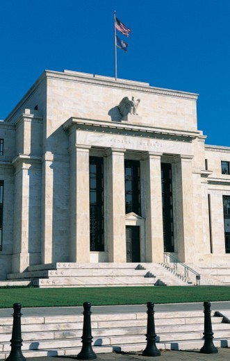 Stock Photo: 1598R-9945964 US Federal Reserve Building, Washington, DC, USA