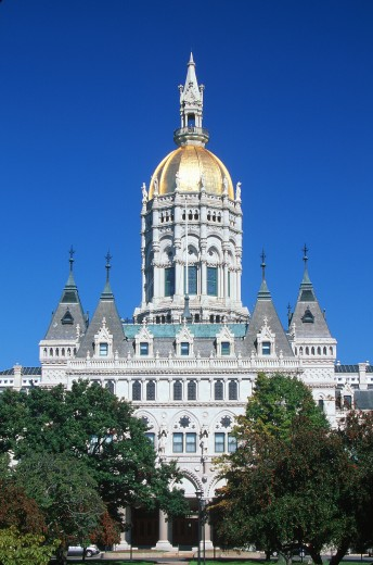 'State Capitol of Connecticut, Hartford' : Stock Photo