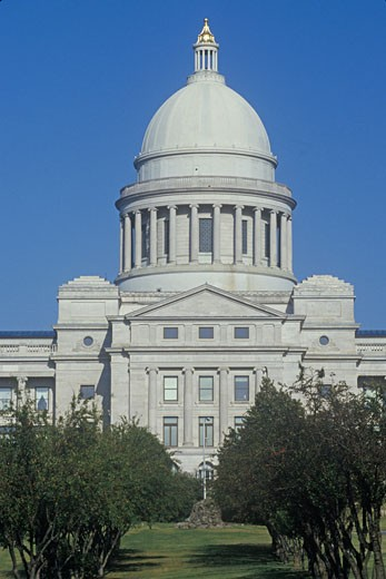 Stock Photo: 1598R-9951069 'State Capitol of Arkansas, Little Rock'