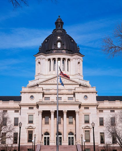'State Capitol of South Dakota, Pierre' : Stock Photo