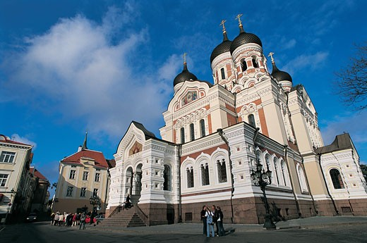 Stock Photo: 1598R-9954831 Alexander Nevsky Cathedral, Tallinn, Estonia