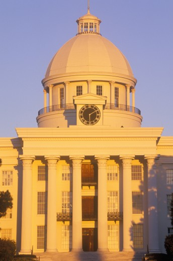 'State Capitol of Alabama, Montgomery' : Stock Photo